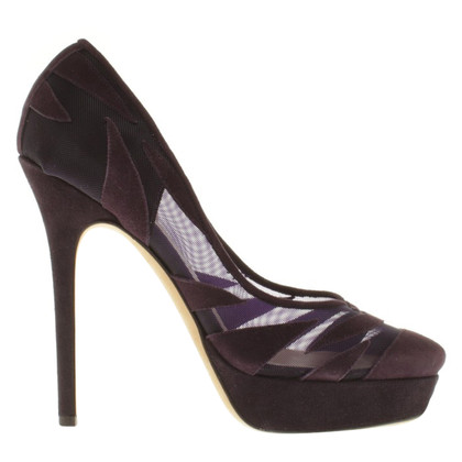 Jimmy Choo Plateau-pumps in Bicolor