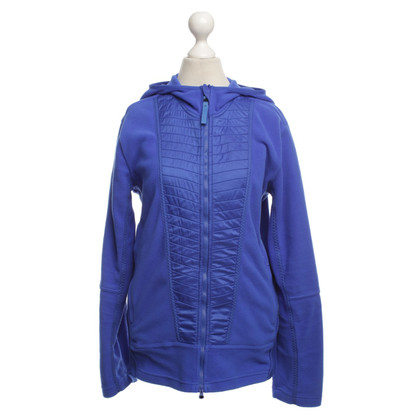 Adidas by Stella McCartney Giacca in pile in blu