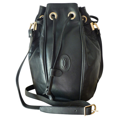 Cartier Black leather bag