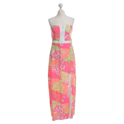 Alice &Trixie Silk dress in neon colors