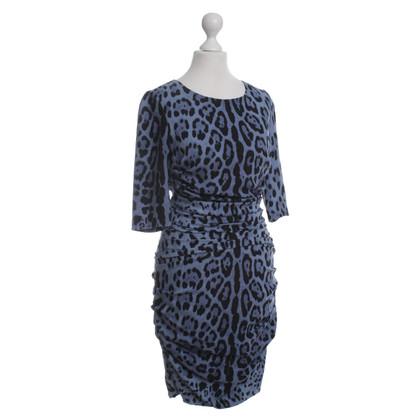 Dolce & Gabbana Dierlijke print jurk