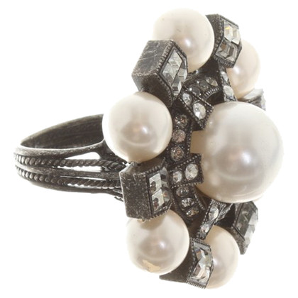 Lanvin Ring with gemstone trim