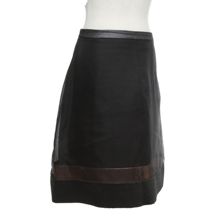 Schumacher skirt in black with glitter