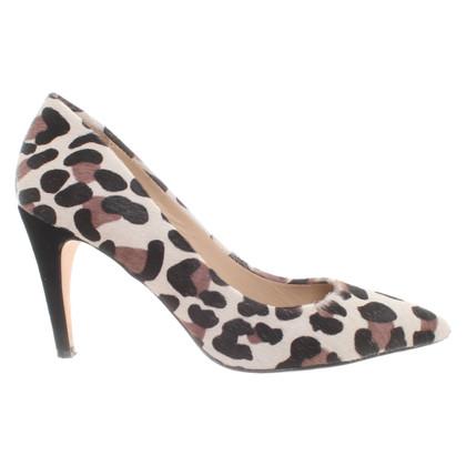 Diane von Furstenberg pumps con motivo leopardo