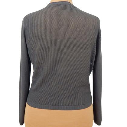 Basler Hole knit cardigan