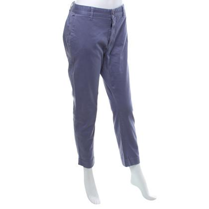 Closed pantaloni chino in viola