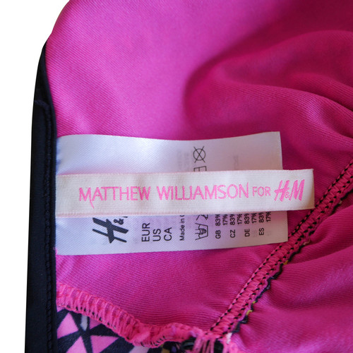 Badpak Met Cut Out.Matthew Williamson For H Mbadpak Met Cut Outs Second Handmatthew