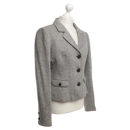 Armani Jeans Blazer in the salt-pepper look