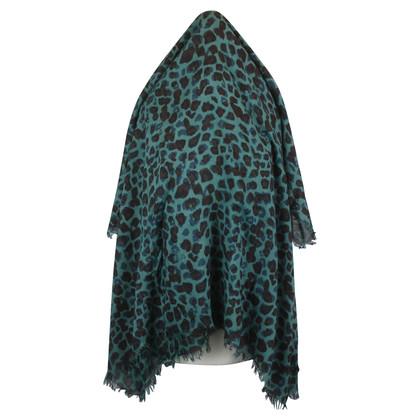 Rika Sjaal met luipaard print
