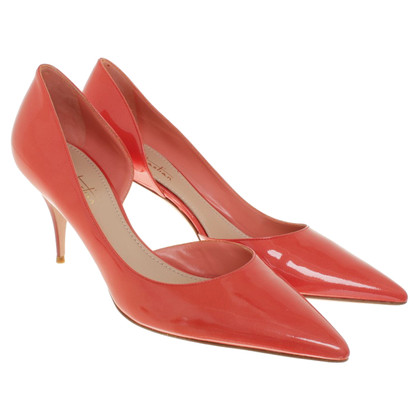 Sebastian pumps en rouge