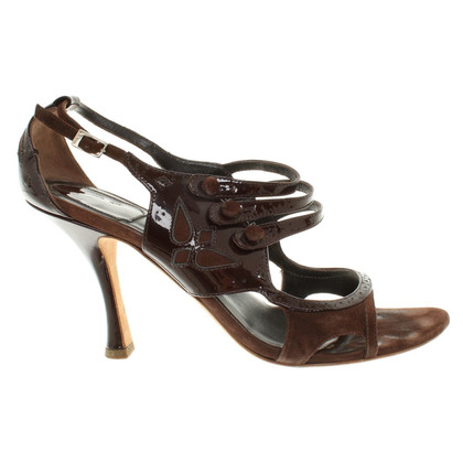 Christian Dior Sandali a Brown