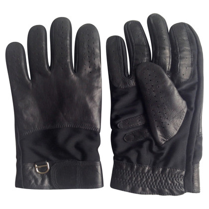 Marc Cain Black leather gloves