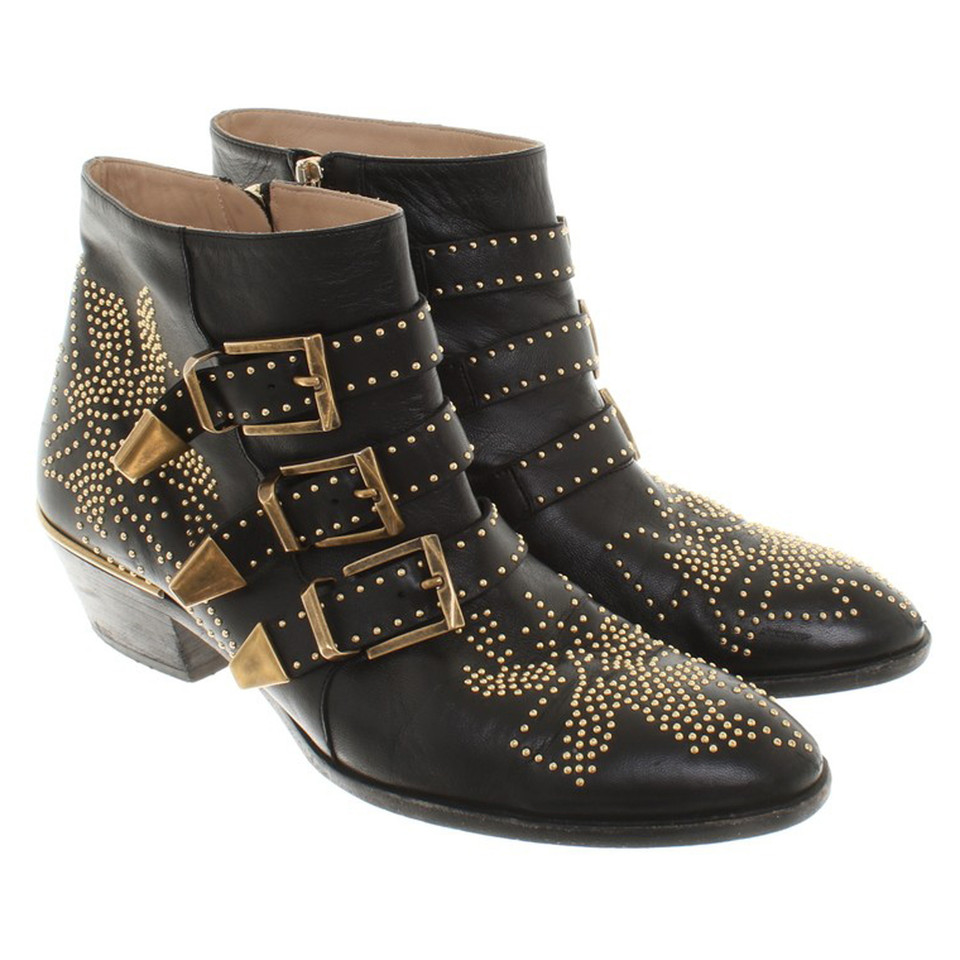"Chloé ""Susanna Boots"" in black"