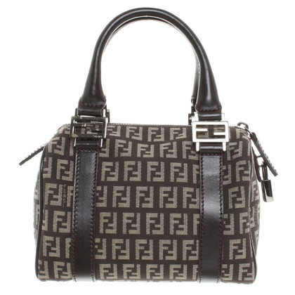 Fendi Handbag with Logo patterning