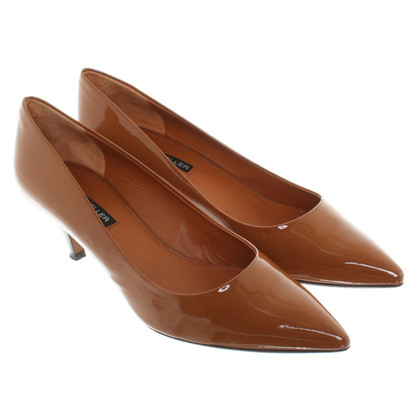 The Seller Patent leather pumps in Light Brown