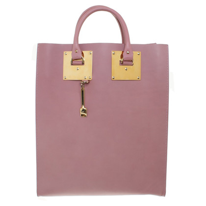 Sophie Hulme Tote Bag in Altrosa