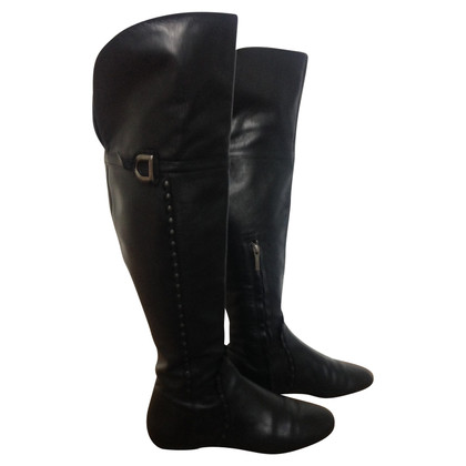 Christian Dior Overknie boots