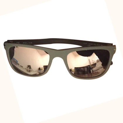 Ray Ban Police mirror sunglasses