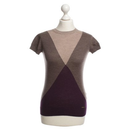 Dsquared2 Fine knit top in Brown