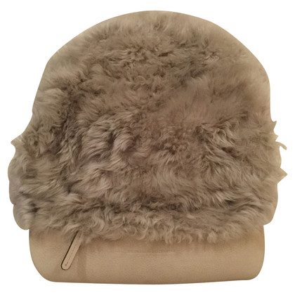 Brunello Cucinelli Backpack with fur trim