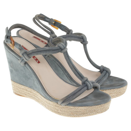 Prada Sandalen Wedge