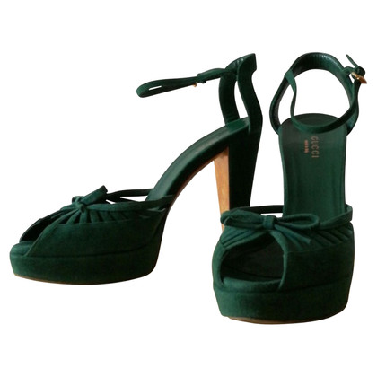 Gucci Sandals in green