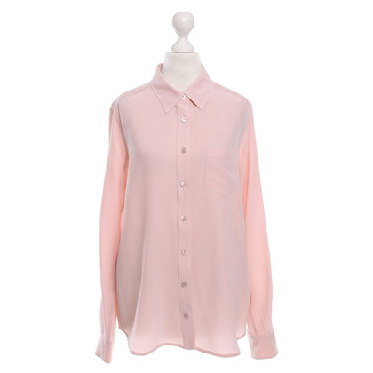 Equipment Zijden blouse in roze