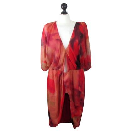 Haute Hippie Dress HAUTEH Red Orange - Buy Second hand Haute Hippie ...