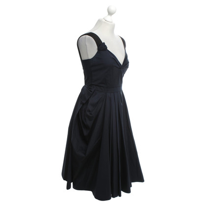 Prada Dress in blue / black