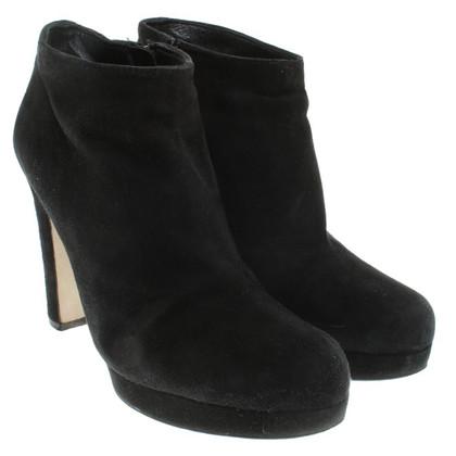 Miu Miu Ankle Boots in Schwarz