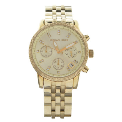 "Michael Kors ""Ritz Chronograph Watch Gold Tone"""