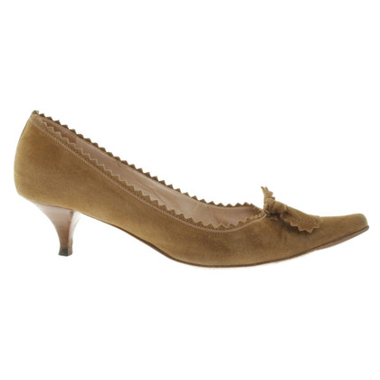 Sonia Rykiel pumps from suede