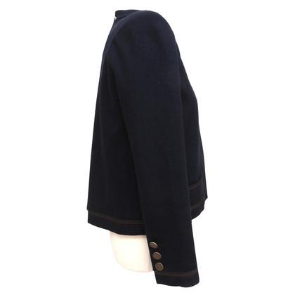 Chanel Kurze Jacke aus Wollstoff