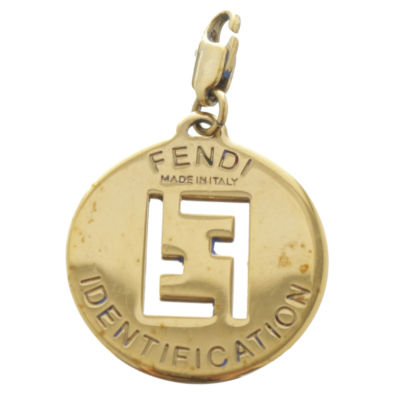 Fendi pendant with embossed logo buy second hand fendi pendant fendi pendant with embossed logo aloadofball Images