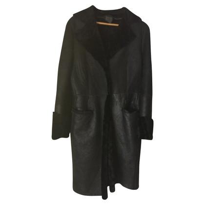 Calvin Klein Lambskin coat