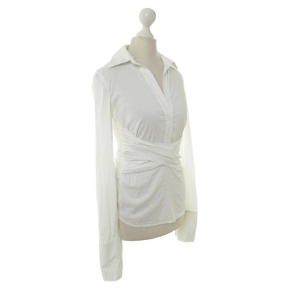 BCBG Max Azria Blouse in white