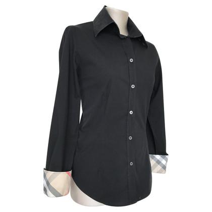 Burberry Black blouse