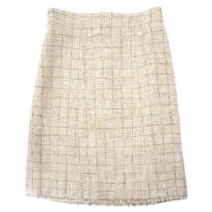 Chanel Midi skirt made of tweed