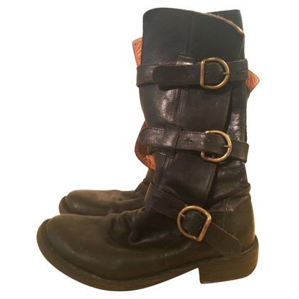 Fiorentini & Baker Black boots