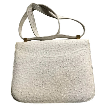 """Hermès """"Constance Bag"""" made of beluga whale leather"""