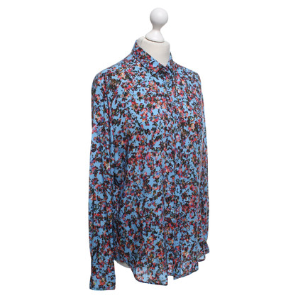 Boss Orange Blouse with a floral pattern