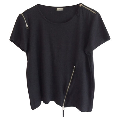 Dries van Noten Shirt mit Reißverschluss