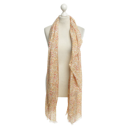 Faliero Sarti Scarf with floral pattern
