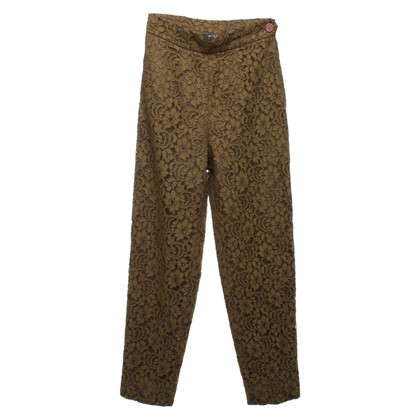 Moschino Cheap and Chic trousers with lace