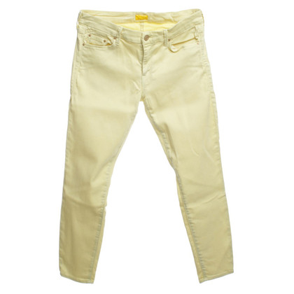 Mother Jeans in yellow