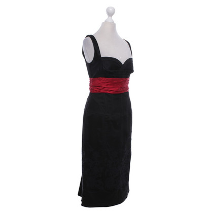 Karen Millen Dress in black / red