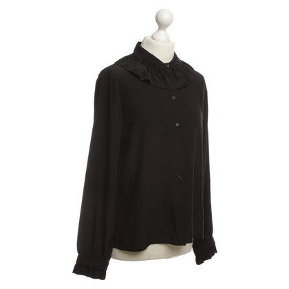 H&M (designers collection for H&M) Silk blouse with beaded tick