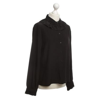 H&M (designers collection for H&M) Blusa in seta con perline tick