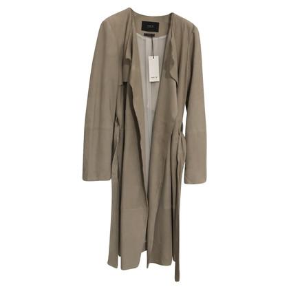 Set Leather Trenchcoat