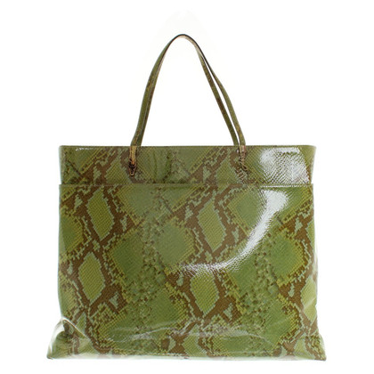 John Galliano Shopper snakeskin